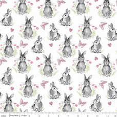 Pretty Bunnies C9005 white