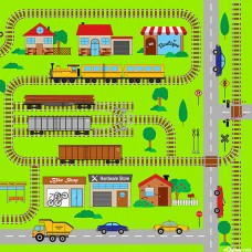 Connector Playmat -Trains