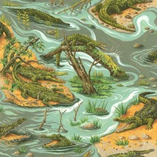Crocodiles 11640