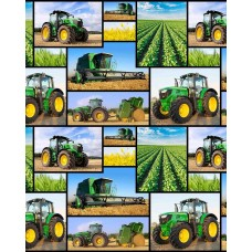 Farm Machines 7105D Collage Blocks
