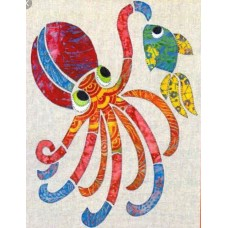 Ola the Octopus Applique Pattern