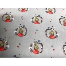 Peter Rabbit CCCPRT-1grey