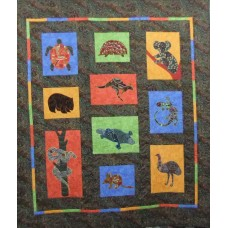 Bushland Friends Pattern