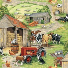 In The Country - farmyard 89310-1