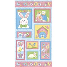 Bunny Patch Flannel  F2741-42