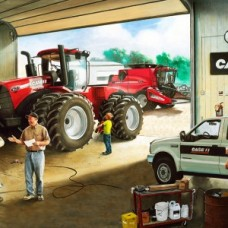 Case Tractors 10002 workshop panel