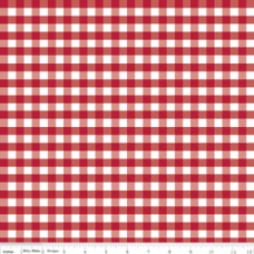 Gingham C450-80- red