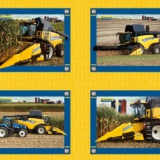 New Holland pillow panel 10058a