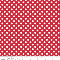 Small Dots C350-80 red