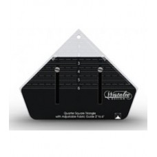 Westalee Adjustable  Quarter Square  Triangle Ruler -  Small
