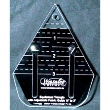 Westalee Adjustable  Equilateral Triangle  Ruler